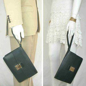 Louis Vuitton Second Bag Kourad Greens Taiga